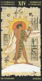 14 Умеренность. Египетское Таро