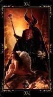 15 Дьявол. Колода Таро Темных Сказок