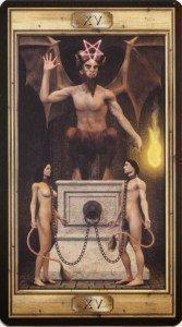 15 Дьявол. Таро Универсальный Ключ