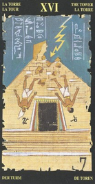 16 Башня. Египетское Таро