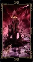 16 Башня. Колода Таро Темных Сказок