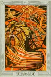 16 Башня. Таро Тота Алистера Кроули