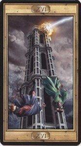 16 Башня. Таро Универсальный Ключ