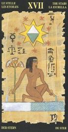 17 Звезда. Египетское Таро