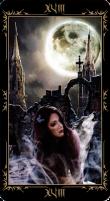 18 Луна. Колода Таро Темных Сказок