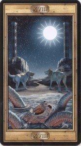 18 Луна. Таро Универсальный Ключ