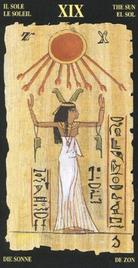 19 Солнце. Египетское Таро