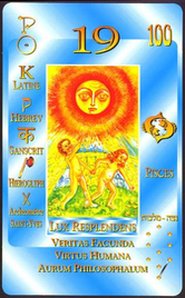 19 Солнце. Каббалистическое Таро Г.О.М.