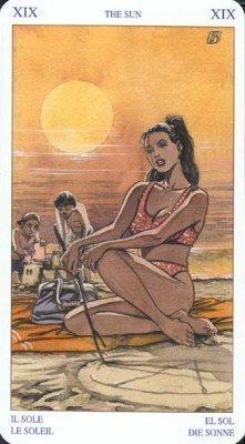 19 Солнце. Колода Языческого Таро (Белой и Черной магии)