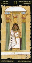 2 Жрица. Египетское Таро