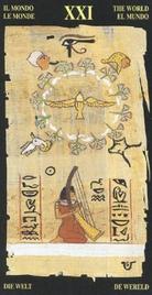 21 Мир. Египетское Таро