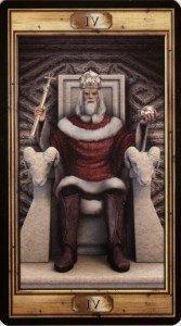 4 Император . Таро Универсальный Ключ