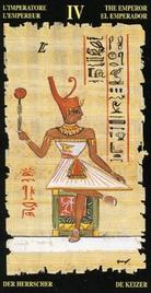4 Император. Египетское Таро