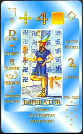 4 Император. Каббалистическое Таро Г.О.М.