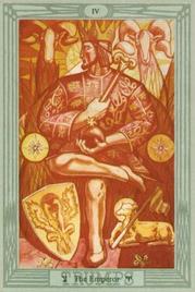 4 Император. Таро Тота Алистера Кроули
