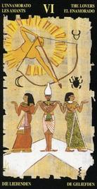 5 Влюбленнные. Египетское Таро