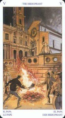 5 Жрец. Колода Языческого Таро (Белой и Черной магии)