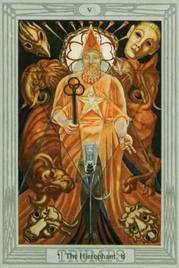 5 Иерофант. Таро Тота Алистера Кроули