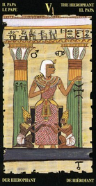 6 Иерофант. Египетское Таро