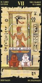 7 Колесница. Египетское Таро