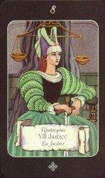 8 Правосудие. Таро Эра Водолей