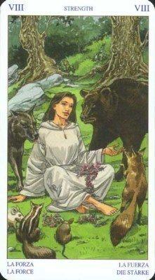 8 Сила. Колода Языческого Таро (Белой и Черной магии)