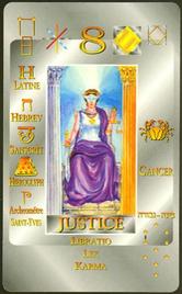 8 Справедливость. Каббалистическое Таро Г.О.М.