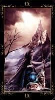 9 Отшельник. Колода Таро Темных Сказок