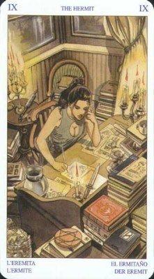 9 Отшельник. Колода Языческого Таро (Белой и Черной магии)