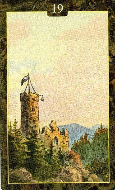 Карты Ленорман. Башня
