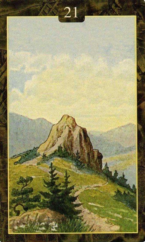 Карты Ленорман. Гора