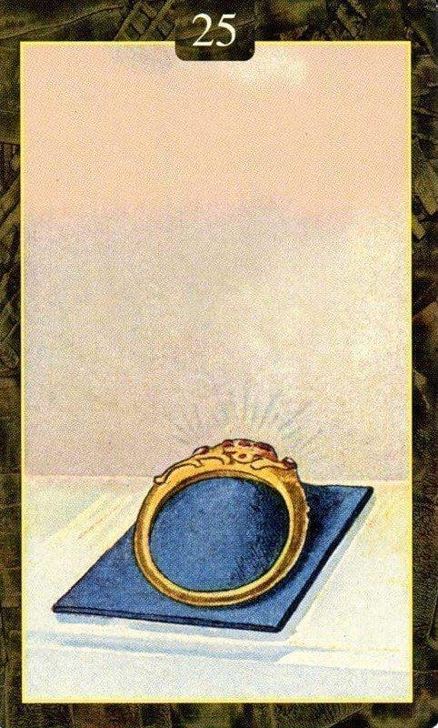 Карты Ленорман. Кольцо