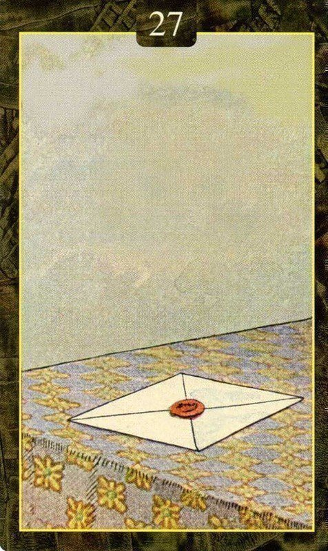 Карты Ленорман. Письмо