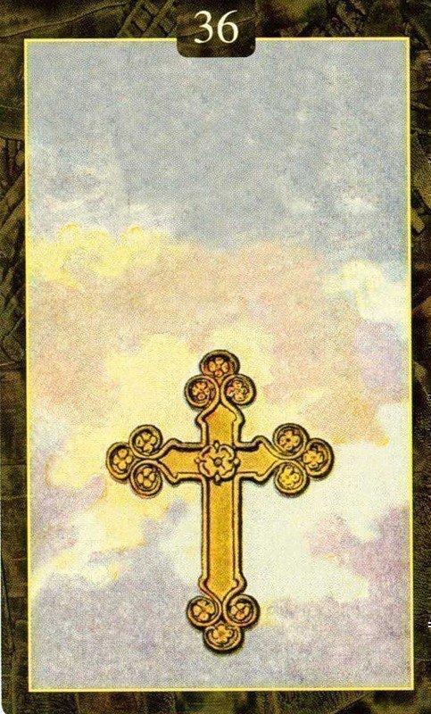 Карты Ленорман. Крест