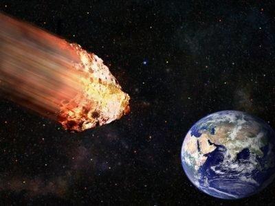 Падение астероида в 2020 году