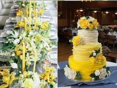 Свадьба в мае 2020 - шафрановая