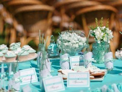 Свадьба в апреле 2020 в мятно-голубом цвете