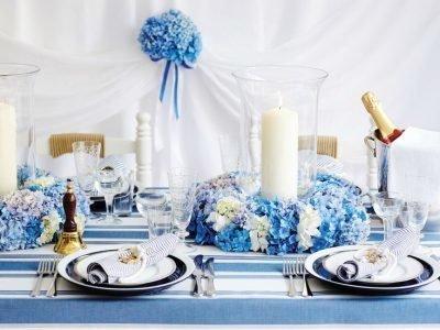 Свадьба в ноябре 2020, синий цвет
