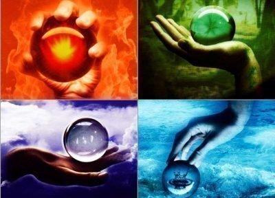 Четыре стихии фей