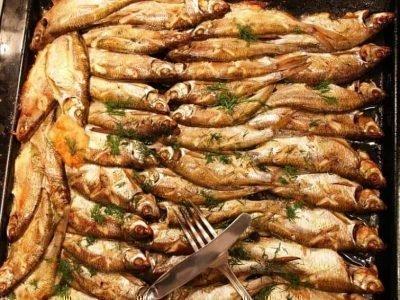 Сонник: много жареной рыбы