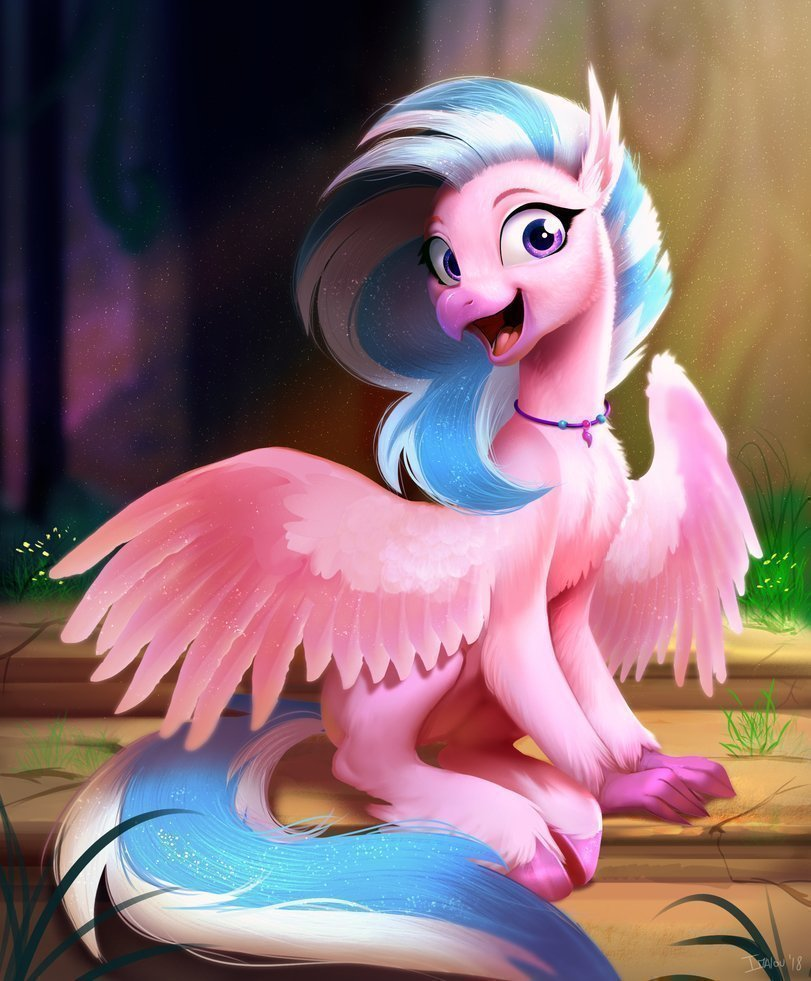 Гиппогриф в мультфильме Мой маленький пони