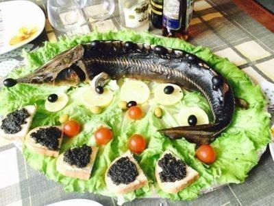 Кушать во сне рыбу с икрой