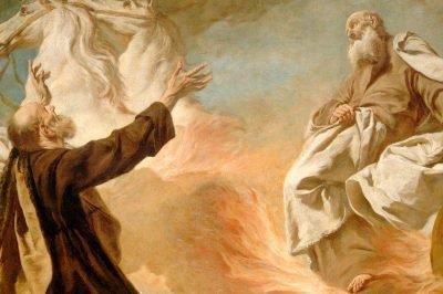 Фреска Енох и Господь