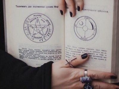 Ведьомские книги с риталами