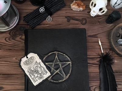 Атрибуты черной ведьмы