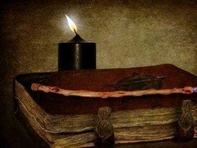 Ритуал с черной свечой