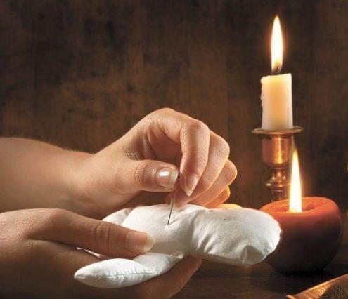 Ритуал с иглами