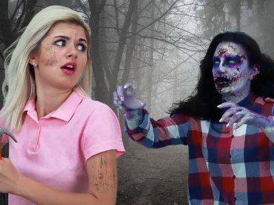 Убеегать от зомби во сне