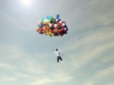 Летать во сне на воздушных шарах
