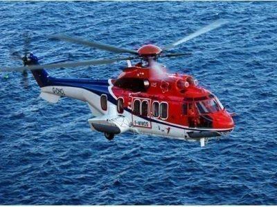 Вертолет над водой во сне